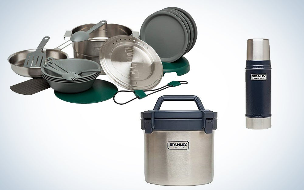 Stanley vacuum insulated containers and cookware