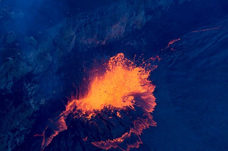 Lava Splatter