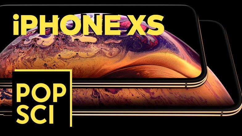 iPhone XS video