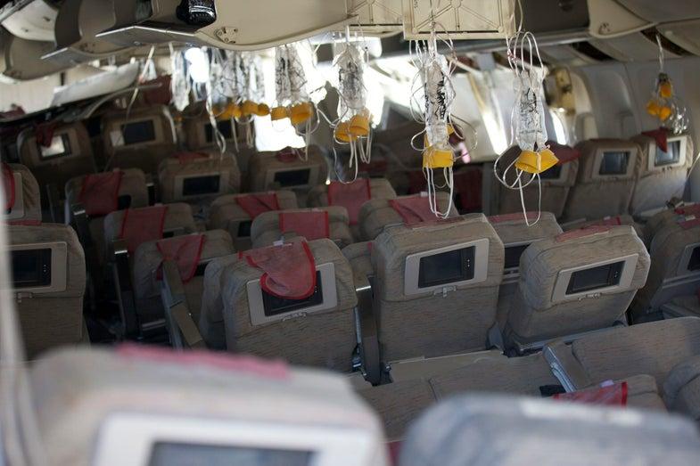 plane oxygen masks