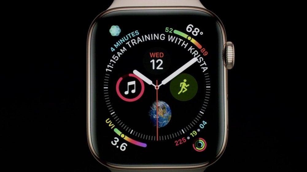 Apple 4 Watch Face