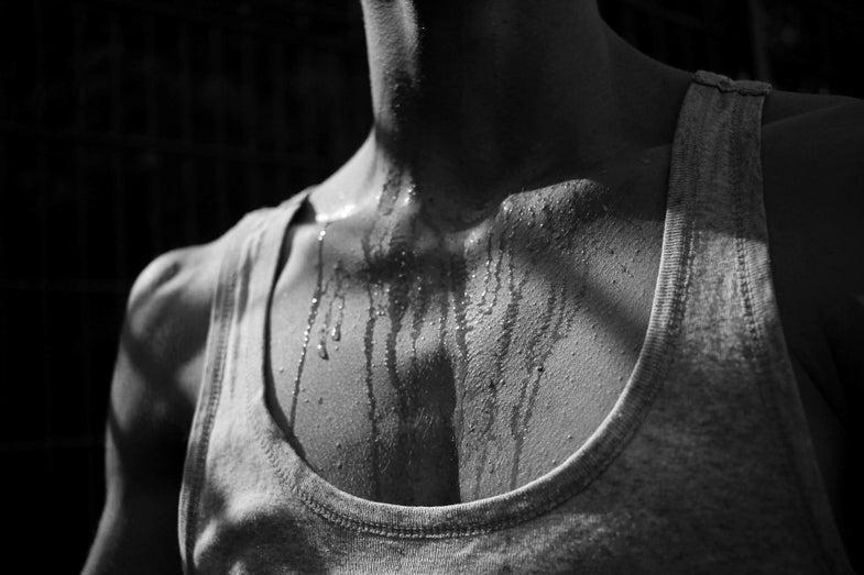 human body sweat