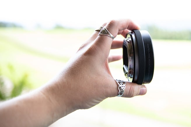 The control ring mount adapter allows photographers to mount EF lenses to the new R mount.