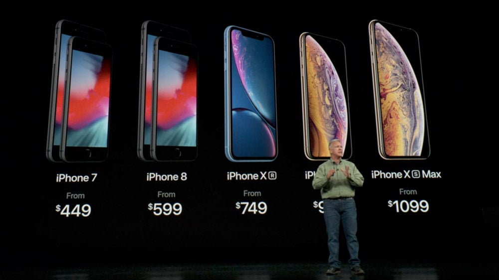 New iPhone Lineup