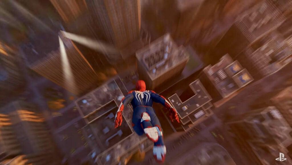 Spider-Man Dive