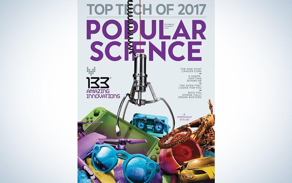 Popular Science November December 2017 cover