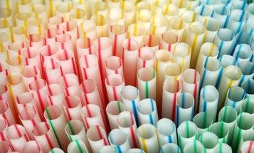 We suck at recycling straws—so maybe we should ban them