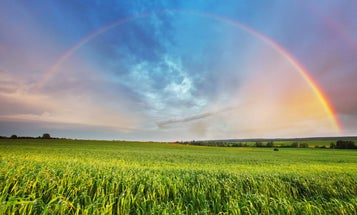 How are rainbows formed? With simple atmospheric science.