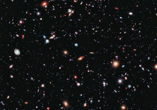 From Hubble, The Deepest-Ever View Of The Universe