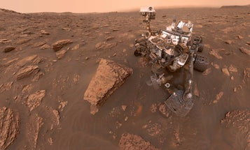 Weather got you down? The entire planet of Mars is buried in a dust storm right now.