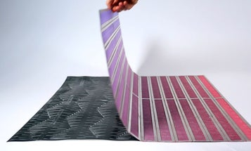 This textile's twitching tendrils hint at a future of programmable materials