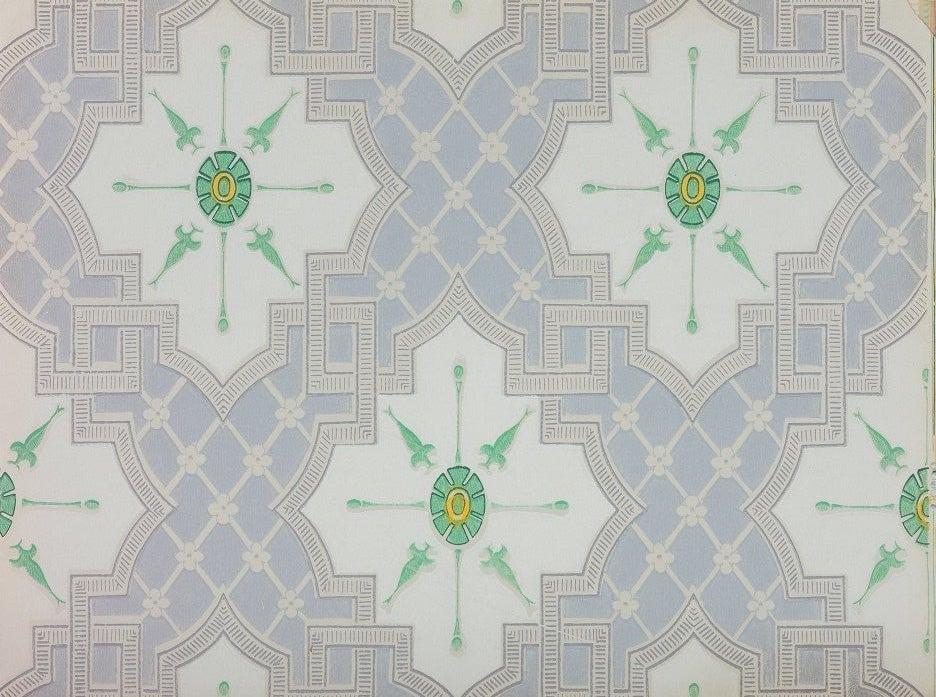 a green wallpaper