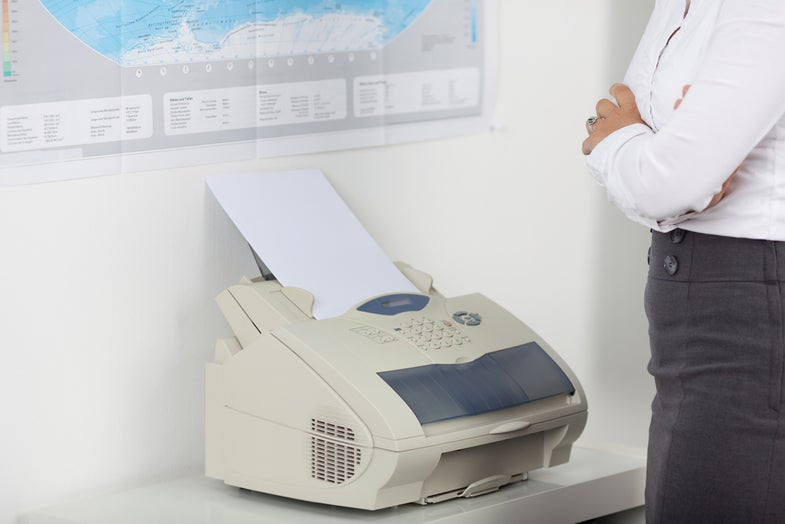 Why do we still have fax machines?