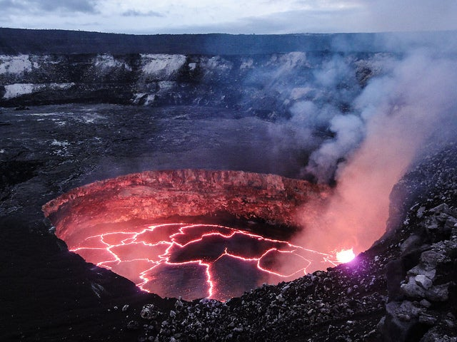 If Kilauea's lava lake falls below the water table, the results could be explosive