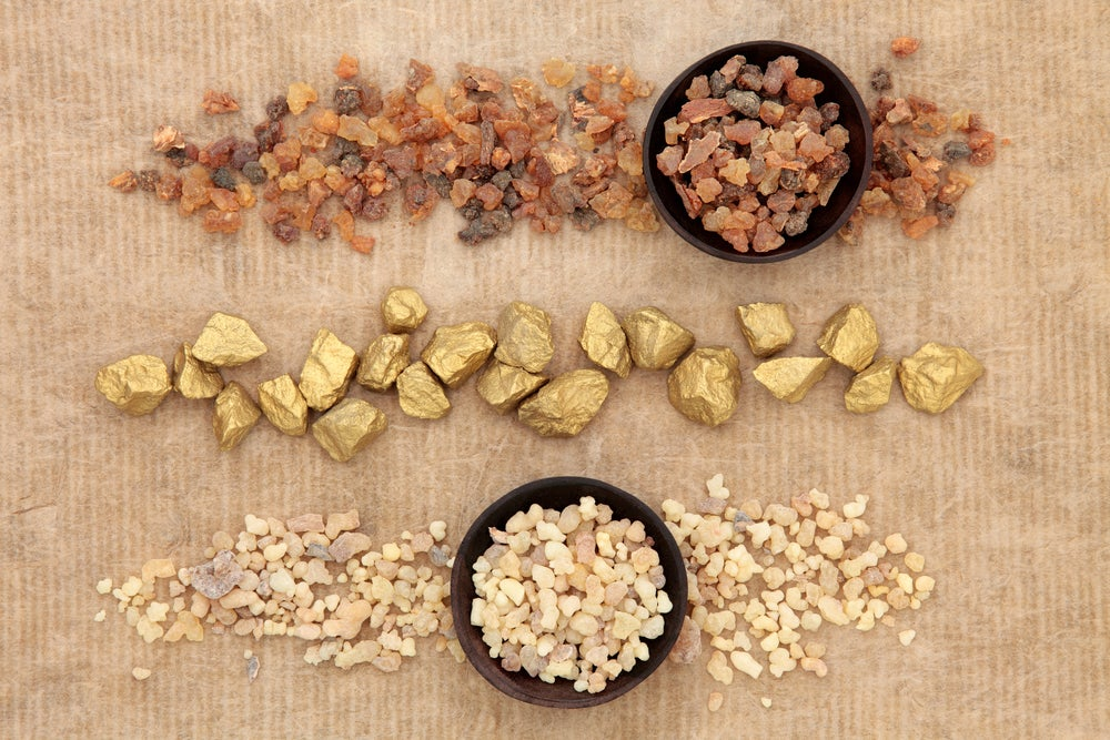Gold frankincense and myrrh botanical explanation