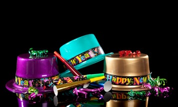 Check out the weirdest New Year's Eve facts we could find