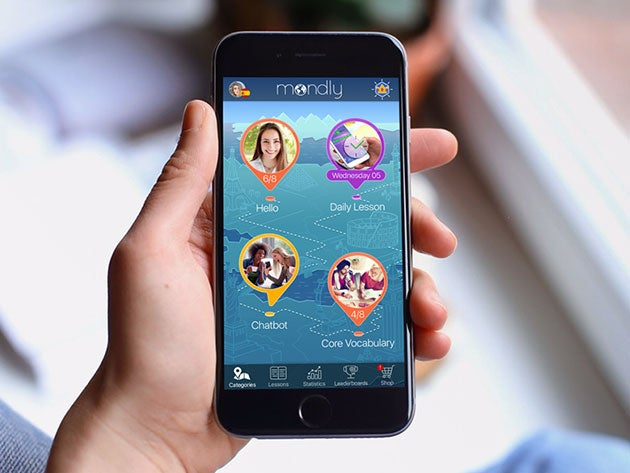 Mondly language app