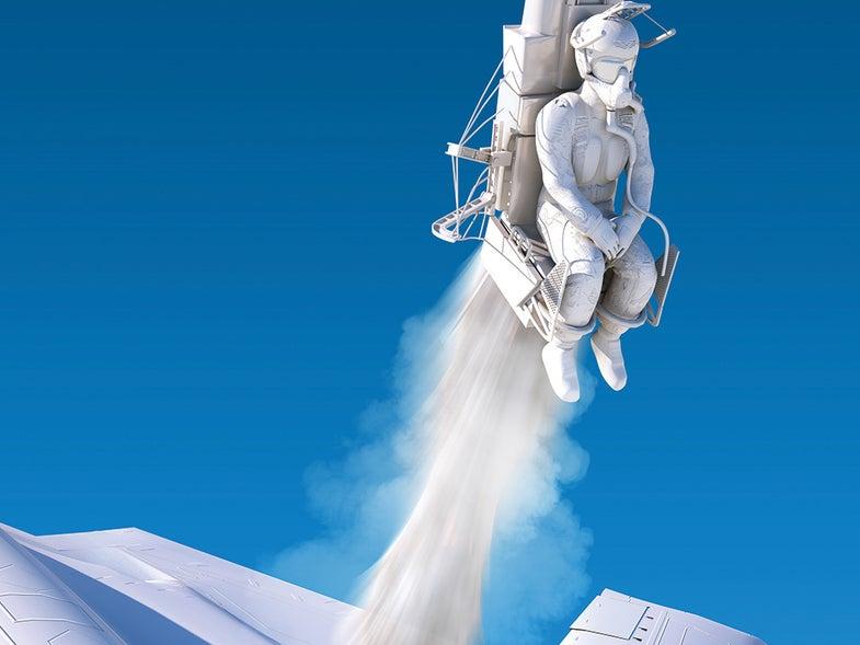 illustrated modern ejection seat & plane emergency evacuation