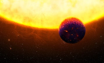 Scientists think they've found a super-Earth exoplanet dripping with sapphires and rubies