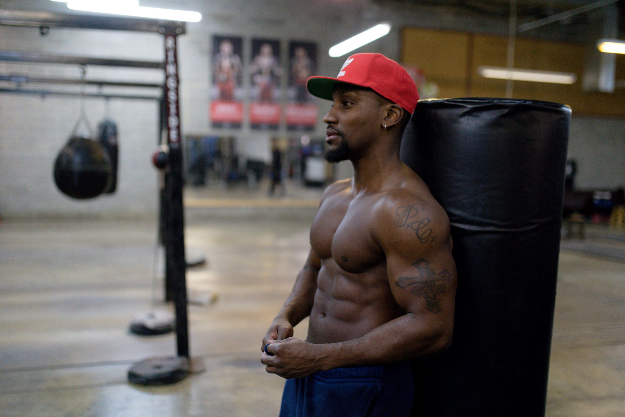 muscle man workout