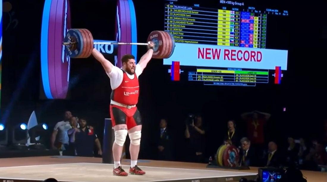 Strongest Man bodyfat