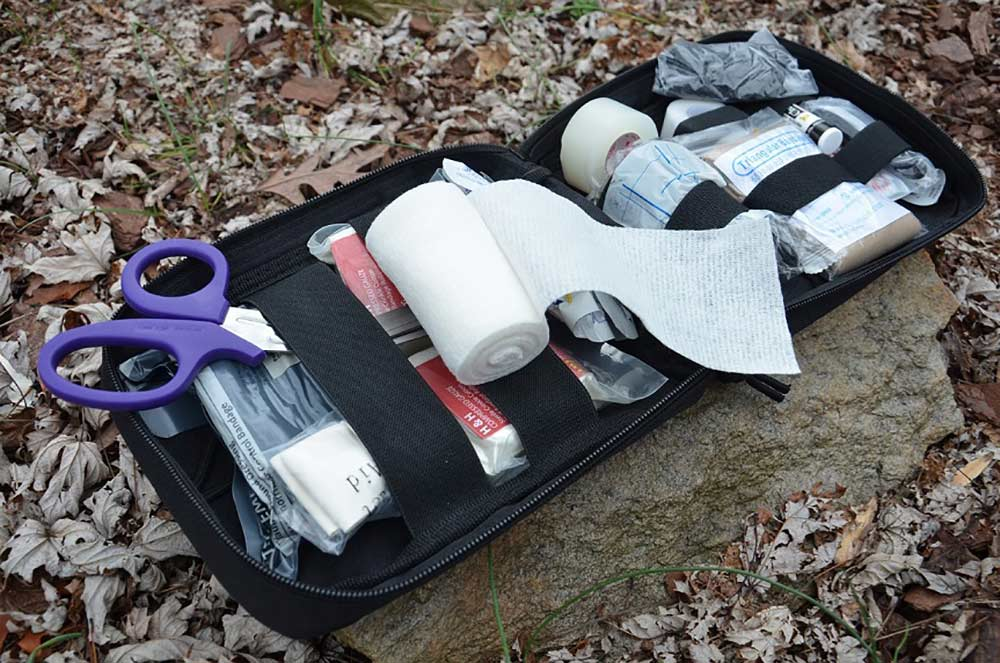 cottom wrap in a medical kit