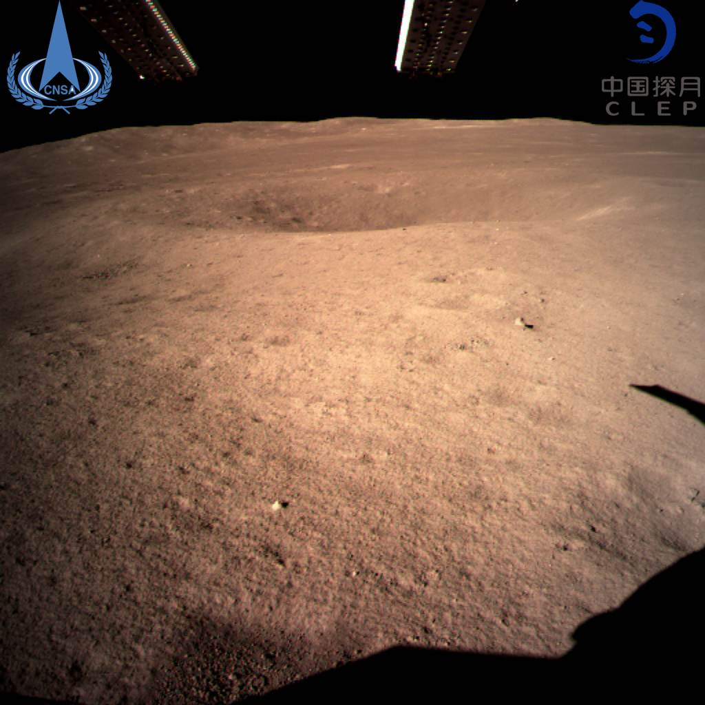 China just accomplished the first landing on the far side of the moon