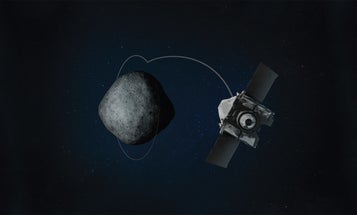 A NASA spacecraft is orbiting a tiny asteroid, and that's a big deal