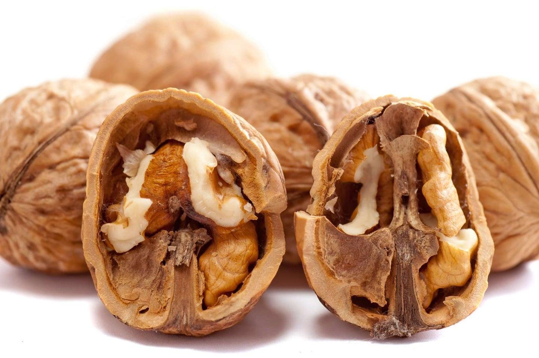 inside of walnut