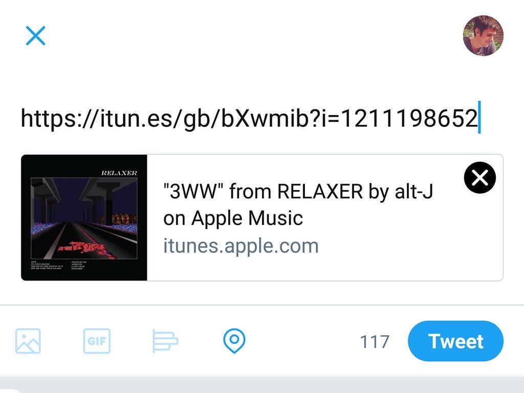 Apple Music sharing