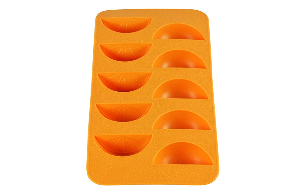 Orange Slice Ice Mold