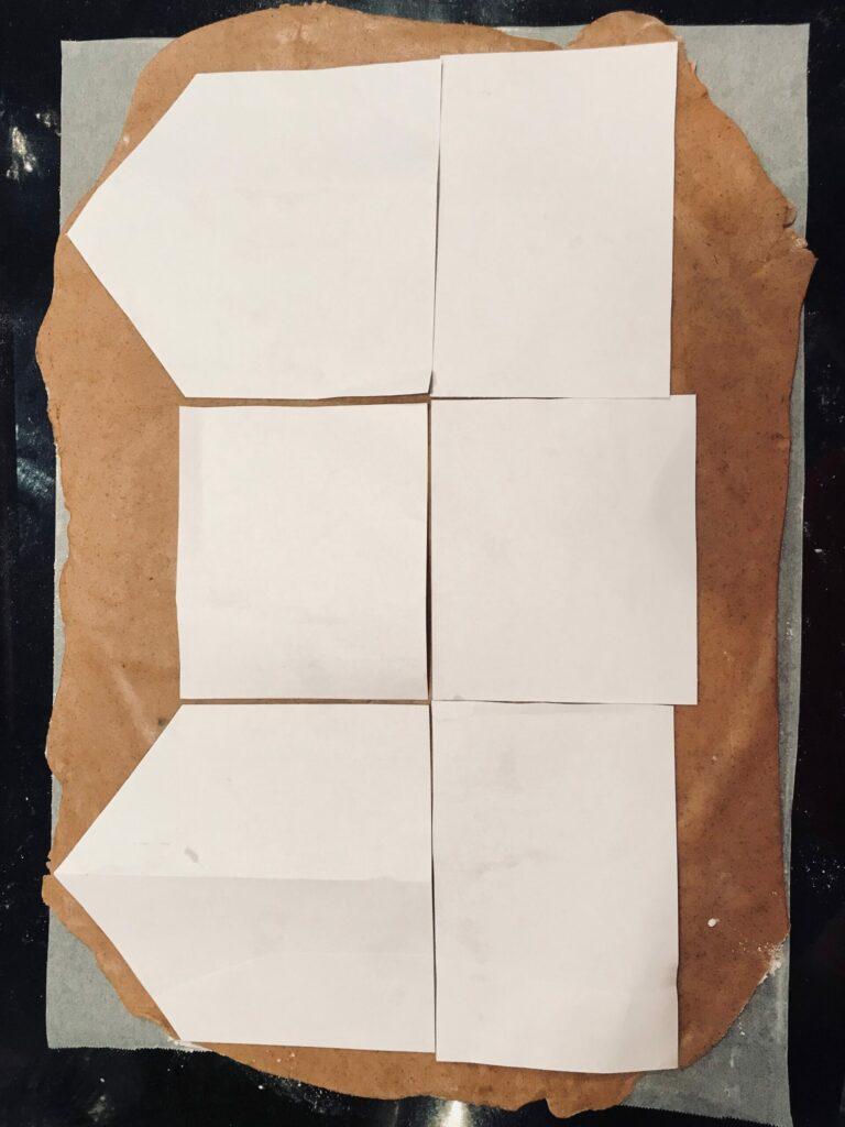 gingerbread dough templates