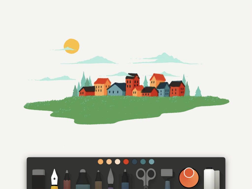 Paper iPad Pro app