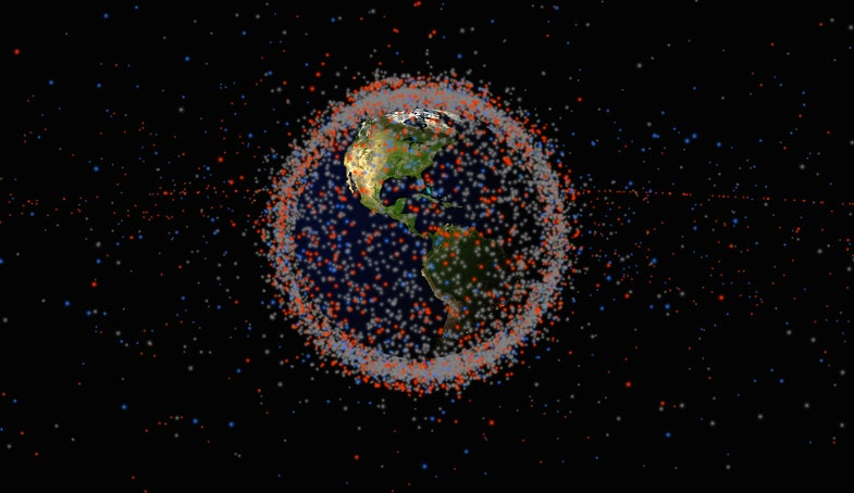 Screenshot of James Yoder's 'Stuff In Space' website