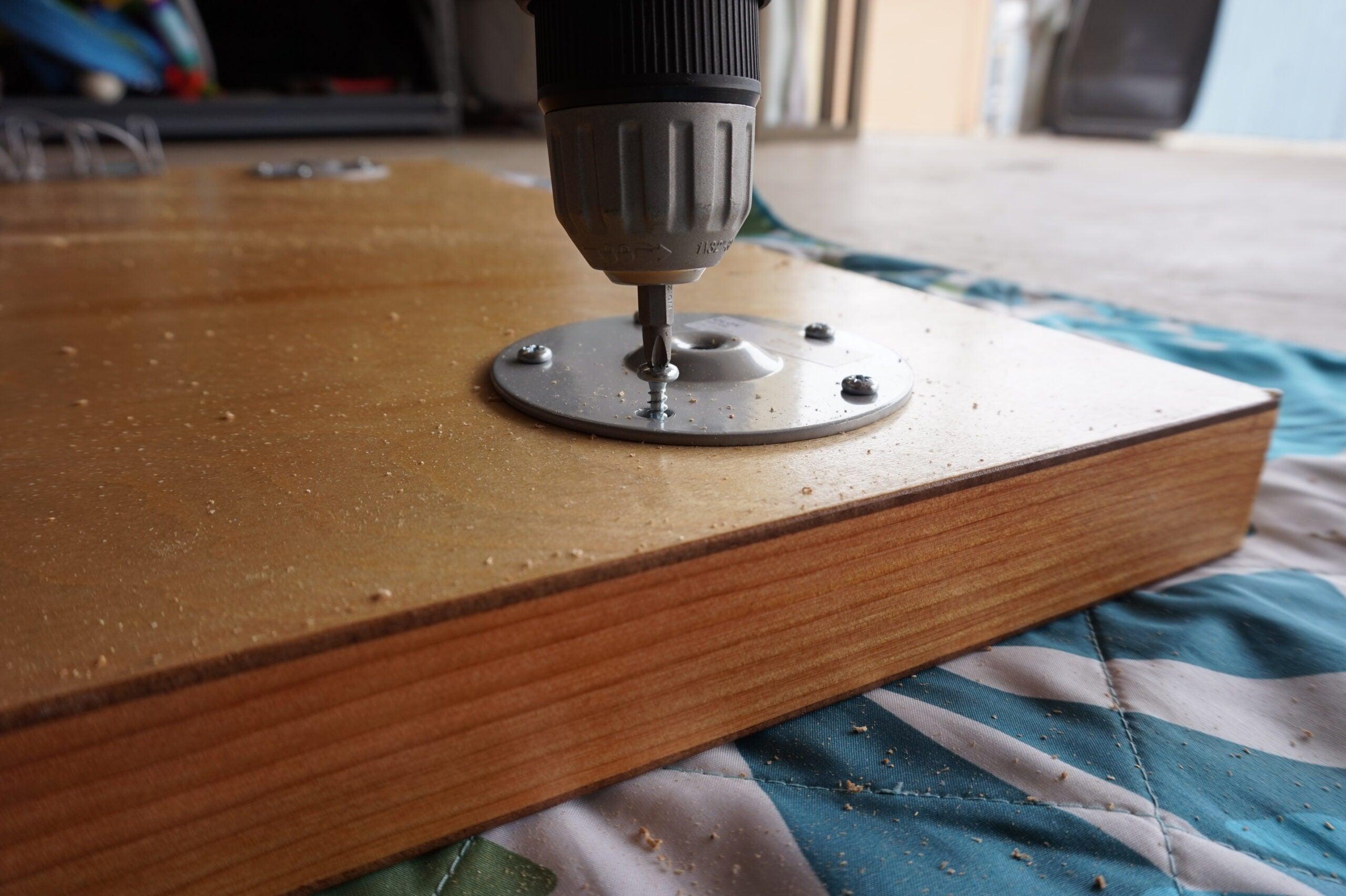 Step 4 - Start assembling