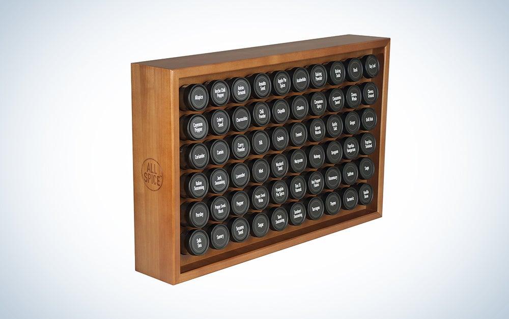 AllSpice Wooden Spice Rack