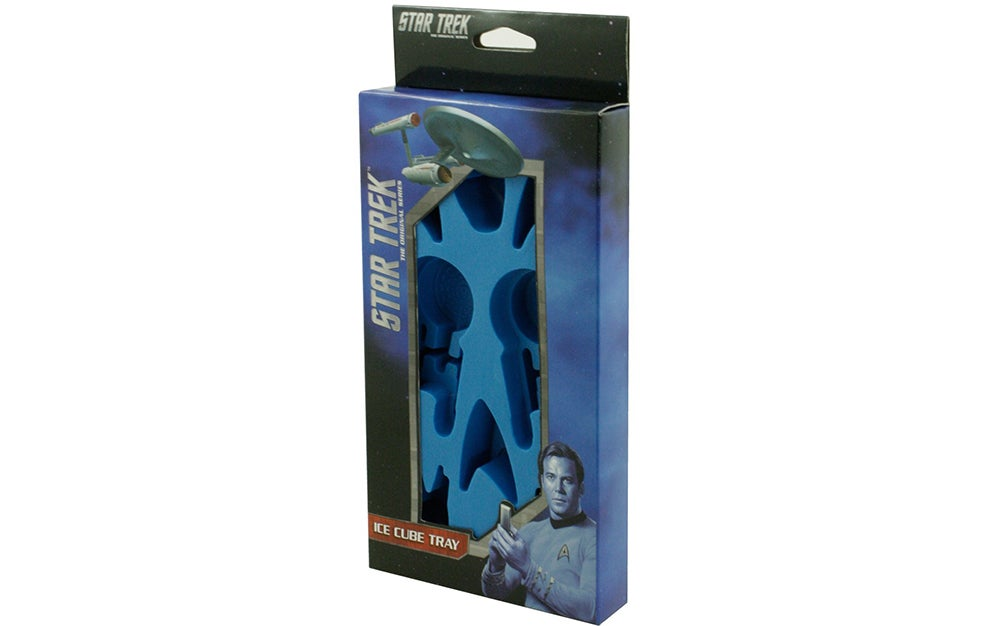 Star Trek Ice Molds