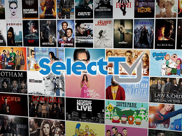 With a library of 500,000 movies and shows, SelectTV puts Netflix to shame