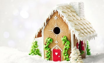 How to build a gingerbread house that won't fall apart