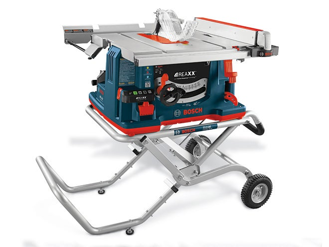 Bosch Reaxx: The Safest Table Saw