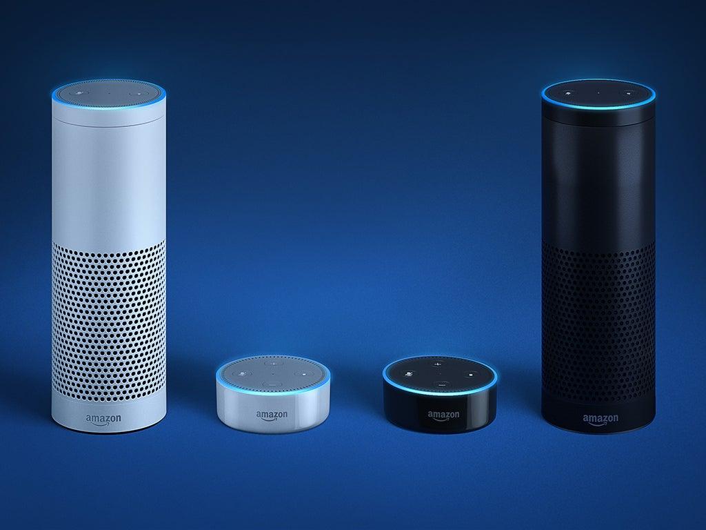 The Amazon Echo and Echo Dot