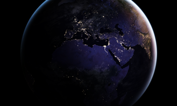 These new photos of Earth lit up at night are actually pretty useful