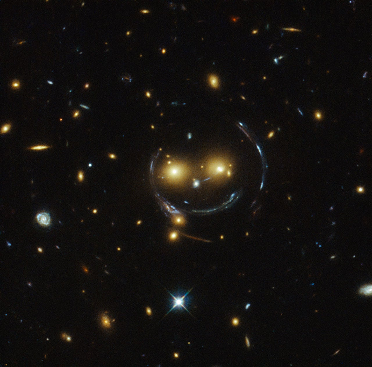 Smile for the Hubble