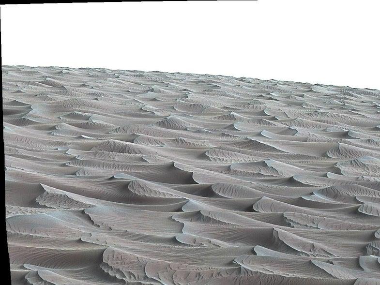 High Dune in Mars