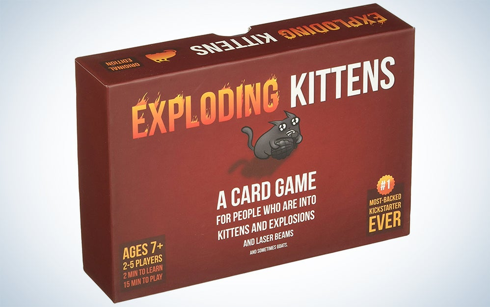 Red Exploding Kittens box