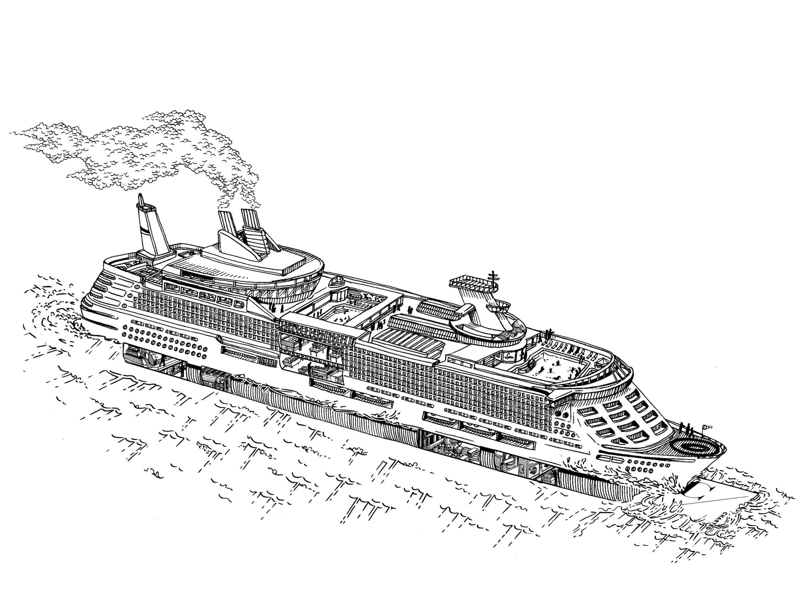 megaliner cruise ship