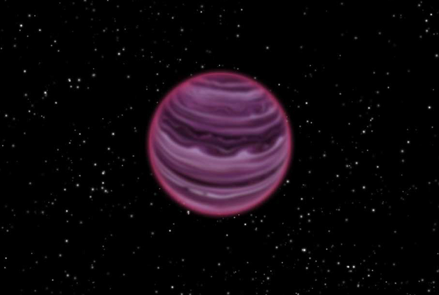 Artist's impression of the planet