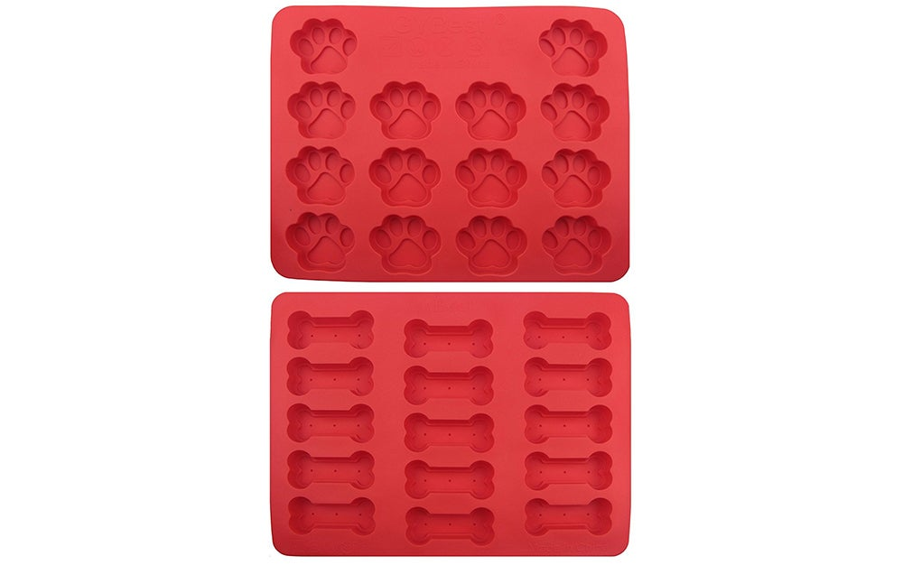 Paw Bone Ice Molds