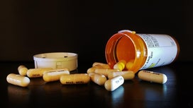 Antibiotic pills which are one of the causes of recurrent UTIs
