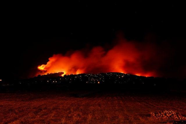 New Zeland's Christchurch fire